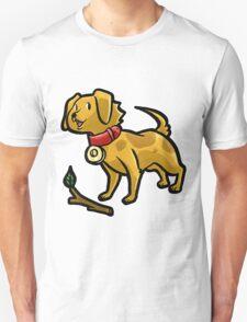 Dog Playing Fetch T-Shirt
