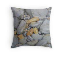 Pebble Study II Throw Pillow