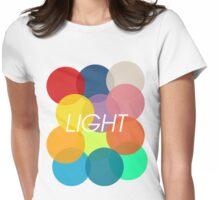 Light Womens Fitted T-Shirt