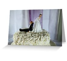 To The Happy Couple Greeting Card