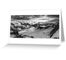Breaking of clouds Greeting Card