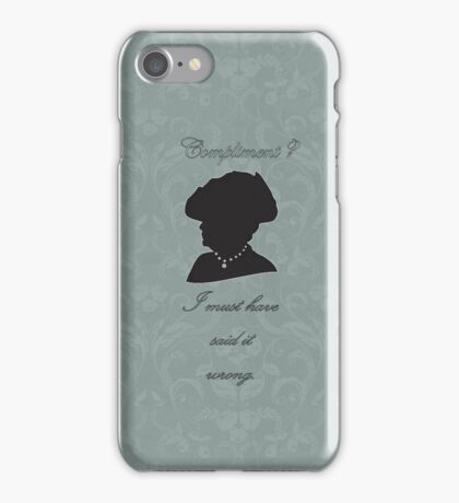 Violet Crawley iPhone Case/Skin
