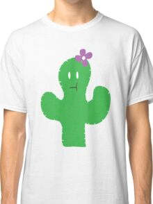 Cutesy Flower Cactus Classic T-Shirt