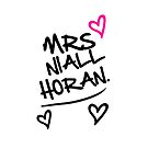 One Direction - Mrs. Niall Horan by LemonScheme