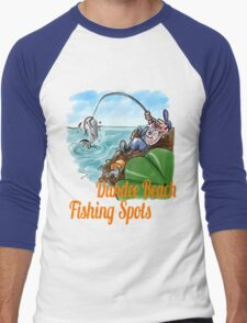 Fishing Spots Men's Baseball ¾ T-Shirt