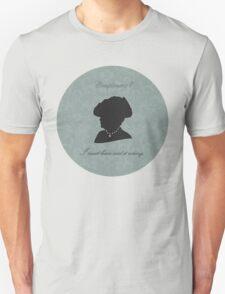 Violet Crawley Unisex T-Shirt