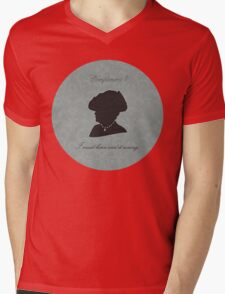 Violet Crawley Mens V-Neck T-Shirt
