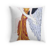 Angel's Banner Throw Pillow