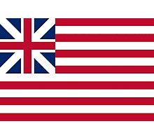 Grand Union Flag Continental Colours First Navy Ensign Photographic Print