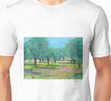 Spring Olive Groves, Greece Unisex T-Shirt