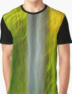 Abstract Motion Blur Trees Graphic T-Shirt