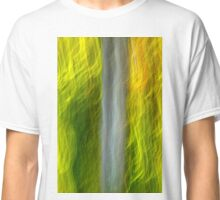Abstract Motion Blur Trees Classic T-Shirt