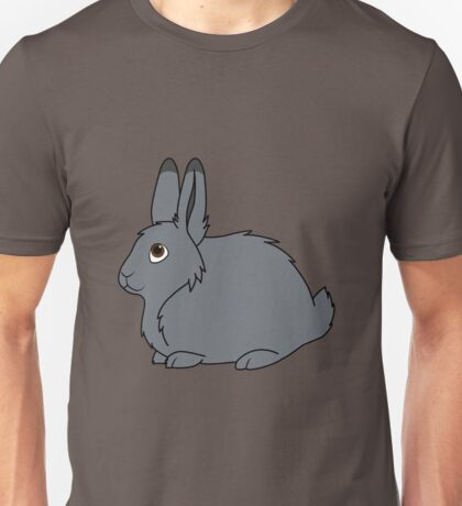 Gray Arctic Hare Unisex T-Shirt