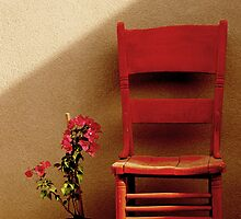 Flower and Chair by Larry3
