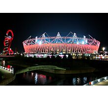 Olympic Stadium in Stratford Photographic Print