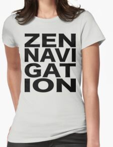 Zen Navigation Womens Fitted T-Shirt