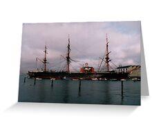 HMS Warrior Greeting Card