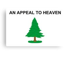 An Appeal to Heaven Flag The PineTree Flag Canvas Print