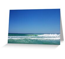 Perfect Wave One - Trigg 10 10 12 Greeting Card