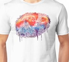 WORLD MAP water colour illustration  Unisex T-Shirt
