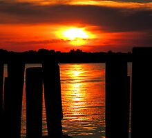 Southport Waterfront Sunset by Barnbk02