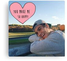 Ethan Dolan you make me so happy Canvas Print
