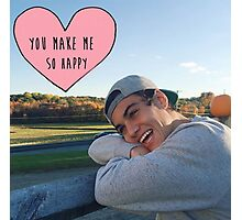 Ethan Dolan you make me so happy Photographic Print