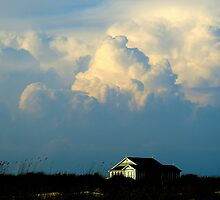 Cumulonimbus Clouds by Barnbk02