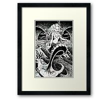 The Mermaid's Cave Revisited Framed Print
