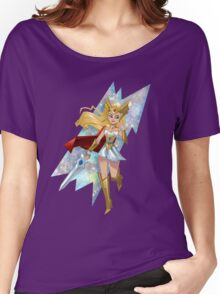 She-Ra Smoosh Women's Relaxed Fit T-Shirt