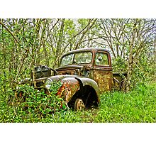 Forgotten Forties Ford Photographic Print
