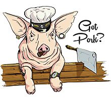 Got Pork? Photographic Print