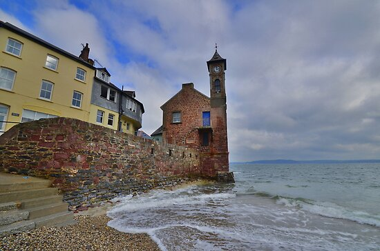 Cornwall: The Clock Tower, Cawsand. by Rob Parsons