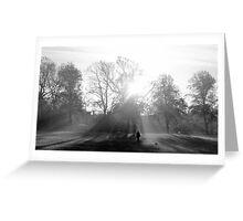 Harrison Park - Autumn Light Greeting Card