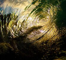 Sunset barrels by MurfTheSurf