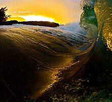 Sunset monster by MurfTheSurf