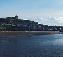 Whitby and The River Esk by WatscapePhoto