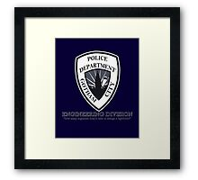 GCPD Engineering Division Framed Print