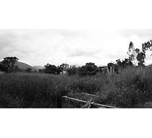 Desolate Fields Photographic Print