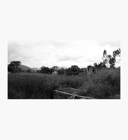 Desolate Fields Photographic Print
