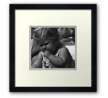 COOKIE!!!!...... Framed Print