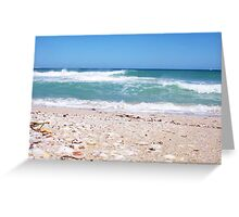 Perfect Wave With Shingle Two -  10 10 12 Greeting Card