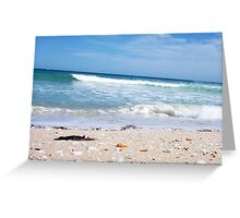 Perfect Wave With Shingle One -  10 10 12 Greeting Card