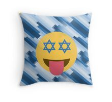 hanukkah chanukkah emoji Throw Pillow