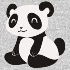 Happy Cartoon Panda by SaradaBoru