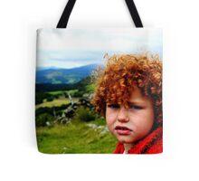 Child portrait, Cader Idris  Tote Bag
