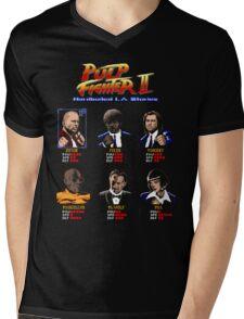 Pulp Fighter II Mens V-Neck T-Shirt
