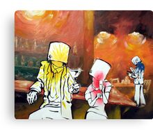 The buckethead bar Canvas Print