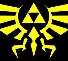 Zelda Triforce by Stephen Dwyer