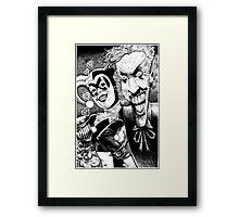 Joker and Harley Quinn Framed Print